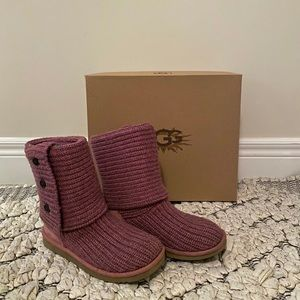 ❤️ Classic Cardy Boot in dusty rose - UGG